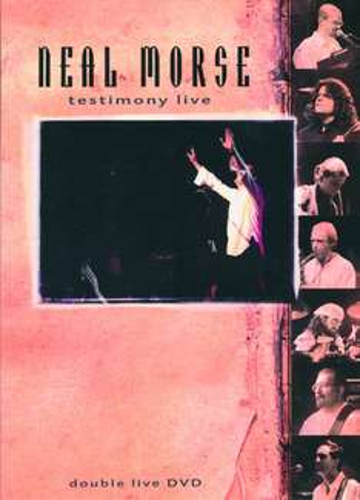 """Neal Morse: Testimony-CDs bzw. -DVD sowie CD """"? Live"""""""