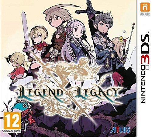 (Amazon.es) The Legend of Legacy (3DS) für 23,46€