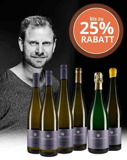 verschiedene Wein Sorten mit extra Rabatt bis zu 25% + newsletter Gutschein