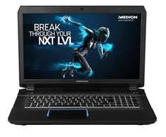[B-Ware] Medion Erazer X7842 mit i7-6700HQ, GTX 970M, 128GB SSD, 500GB HDD, 17,3 Zoll Full-HD IPS, Windows 10 für 999,99€