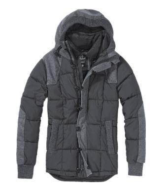 Brandit Jacke mit Kapuze aus Materialmix für 53,85€ statt 85,40€ @Jeans Direct