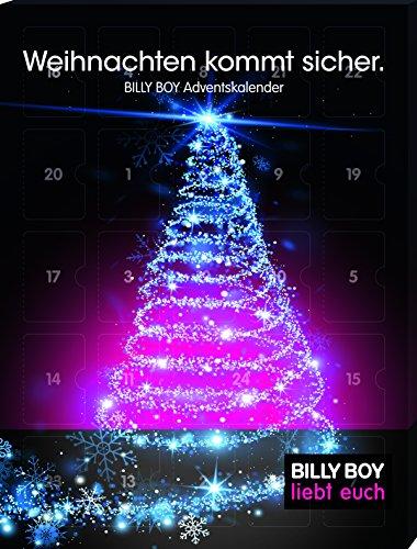 [Amazon Prime] Billy Boy Adventskalender - Weihnachten kommt sicher. 24 plus 2 Kondome für eine sinnliche Vorweihnachtszeit