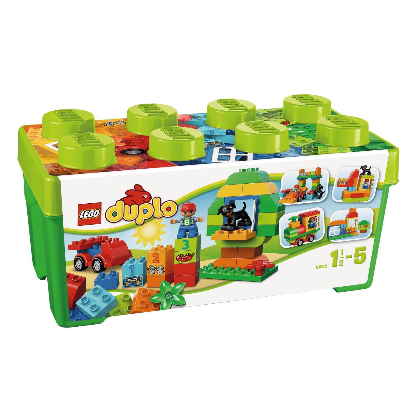 5€ Rabatt (ab 20€ MBW) und versandkostenfreie Lieferung bei [Jako-O] z.B. Lego Duplo 10572 Steinebox für 18,29€ statt ca. 23€