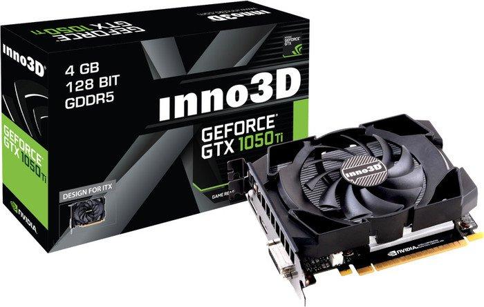 Inno3D GeForce GTX 1050 Ti Compact X1 (4GB) für 139,89€ [Masterpass] [NBB]