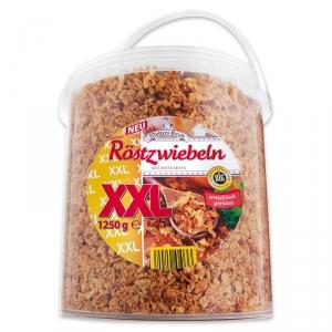 Mutters Beste Röstzwiebeln XXL 1,25kg Eimer für nur 5,99€ bei Norma