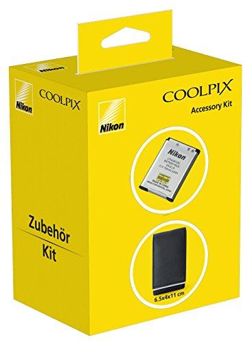 [Amazon Plus Produkt] Nikon Coolkit Akku und Kameratasche für Coolpix S2 / S3 / S4 für 5,44€