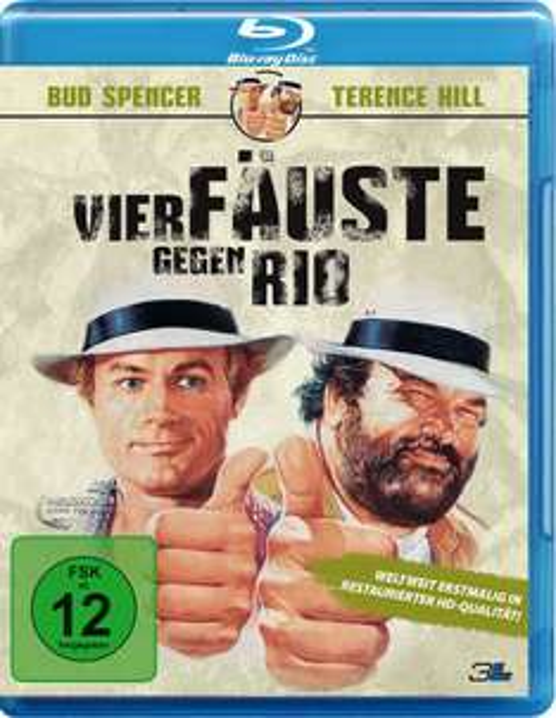 Mehrere Bud Spencer Blu-ray Filme für je 5€ [Amazon Prime]