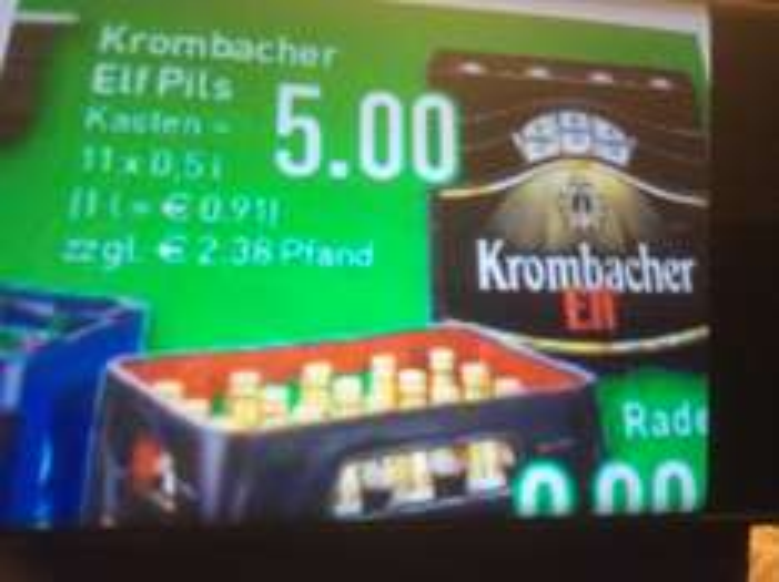 [Marktkauf Iserlohn] Krombacher Pils 11x0,5l für 5 €