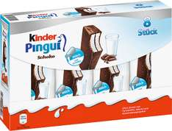 Kinder Pingui bei Kaufland für 1,29€ 8 Stück
