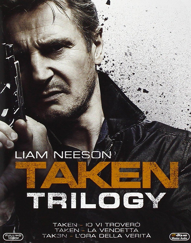 (Amazon.it) Taken Trilogie (Blu-ray) (OT) für 12,13€ oder 3 Stück für 20,55€