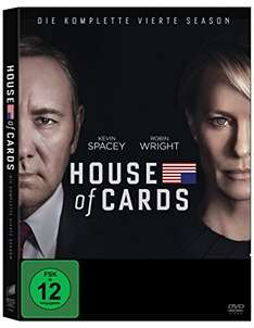 [amazon] House of Cards Season 1-4 DVD und Bluray im Cybermonday Countdown ab 9,97 je Staffel