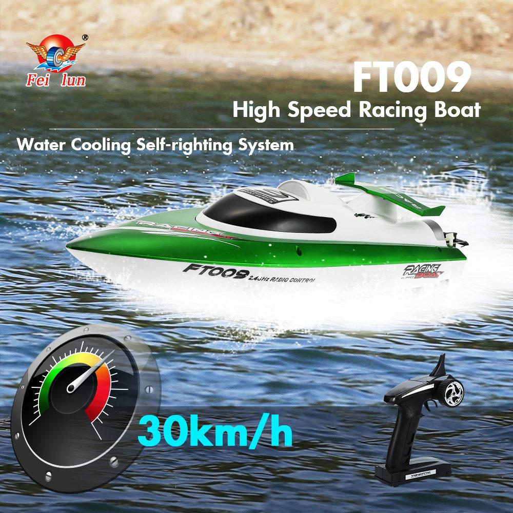 ferngesteuertes FT009 Rennbot (bis zu 30 km/h schnell) mit Versand aus Deutschland
