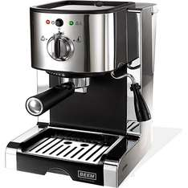 BEEM Espresso Perfect Ultimate 20 bar, Siebträgermaschine aus Chrom und integriertem Milchaufschäumer @ plus.de
