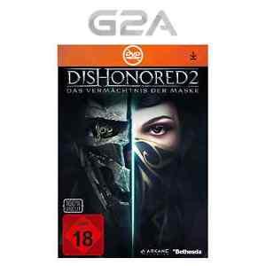 Steam Key Dishonored 2 Das Vermächtnis der Maske