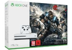 [Saturn Online] MICROSOFT Xbox One S 1TB Konsole - Gears of War 4 Bundle + Dishonered 2 für 244€