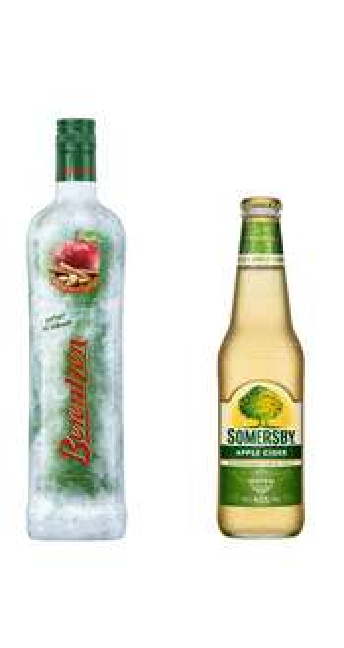 Je eine Flasche Berentzen WinterApfel und Sommersby Cider für 4,99€ inkl. VSK