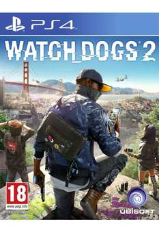 Watch Dogs 2 (PS4 / Xbox One) PEGI-Version inkl. Versand