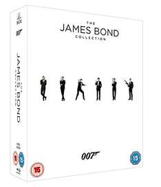 [Amazon.uk] James Bond Collection 23 Blu-rays inkl. UV Copies
