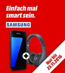 Samsung Galaxy S7/Edge 32GB + Samsung LEVEL ON WL PRO für 549€/649€