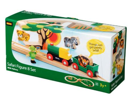 Brio Safari Railway Figuren Set 33004 mit Füllartikeln für 18,46€ bei [Babymarkt]