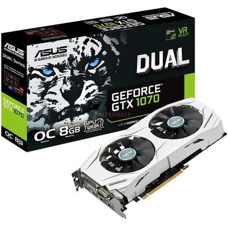 "ASUS Grafikkarte ""GeForce GTX 1070 DUAL OC"" + GOW4"