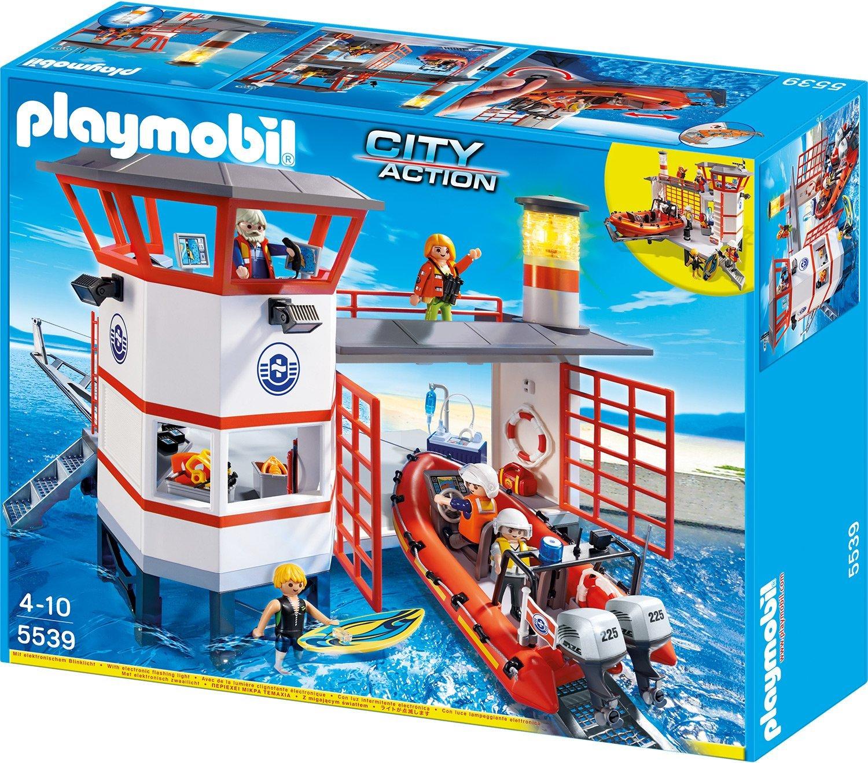 [amazon.de + Galeria Kaufhof] PLAYMOBIL 5539 - Küstenwachstation mit Leuchtturm für 39,99€ inkl. Versand