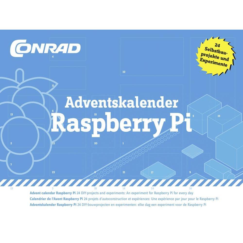 Experimentier-Adventskalender Conrad für den Raspberry Pi für 19,99 € inkl. Versand ( 2 für 34,43 €) @ conrad.de
