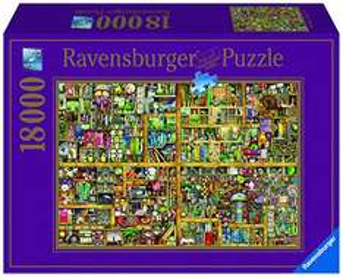 [amazon.de] Ravensburger Colin Thompson - Magisches Bücherregal XXL Puzzle mit 18.000 Teilen für 83,19€ anstatt 120€