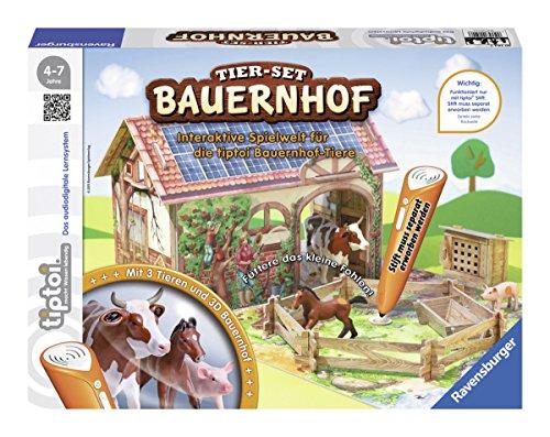 [amazon.de Prime ] Ravensburger tiptoi Tierset Bauernhof für 14,99€ anstatt ca.27€