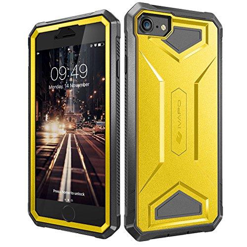iPhone 7 Schutzhülle mit Displayschutzfolie (versch. Farben) für 1,99€