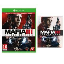 Mafia 3 - Deluxe Edition (Hauptspiel + Season Pass) (XBO) für 15,04€ [Game.co.uk]