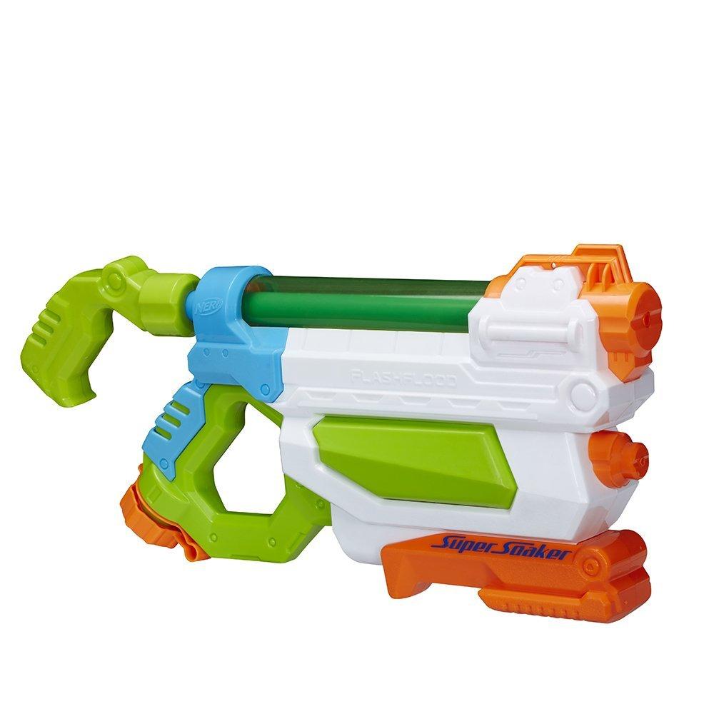 Amazon - Hasbro Super Soaker A9466EU5 - FlashFlood, Wasserpistole mit Prime oder Buch