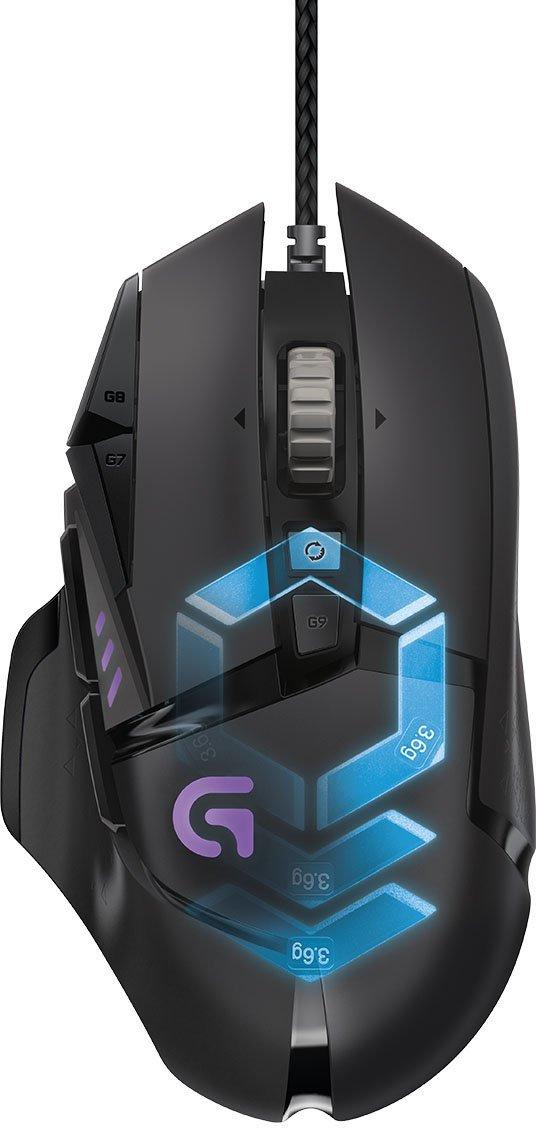 Logitech G502 Proteus Spectrum RGB Tunable Gaming Mouse bei Amazon wie bei Saturn ab heute für 44,00 Euro zu haben.