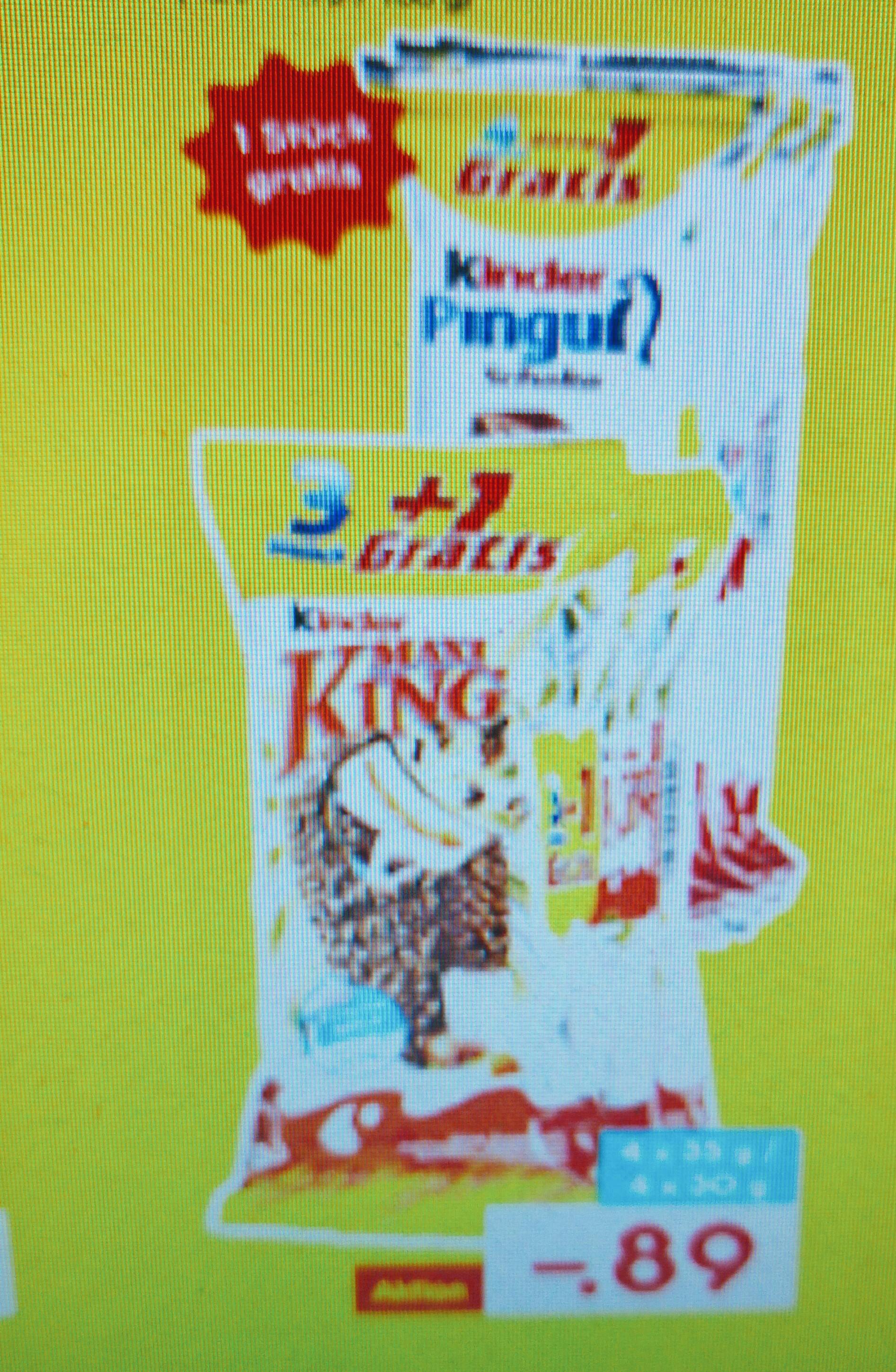 Maxi King 3+1 Packung für 0,89€ ab 21.11.16 bei Netto