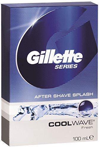 [Prime] 6 x Gillette Aftershave Cool Wave 100 ml(6 x 100 ml) oder als Spar Abo für 8,20€