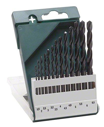 preiswerter HSS Bohrersatz von BOSCH - 1,5 - 6,5 mm bei Amazon mit Prime