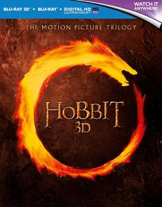 Hobbit Trilogy (Region free) ca. 22 € Sprache nur Englisch  [Amazon.co.uk]