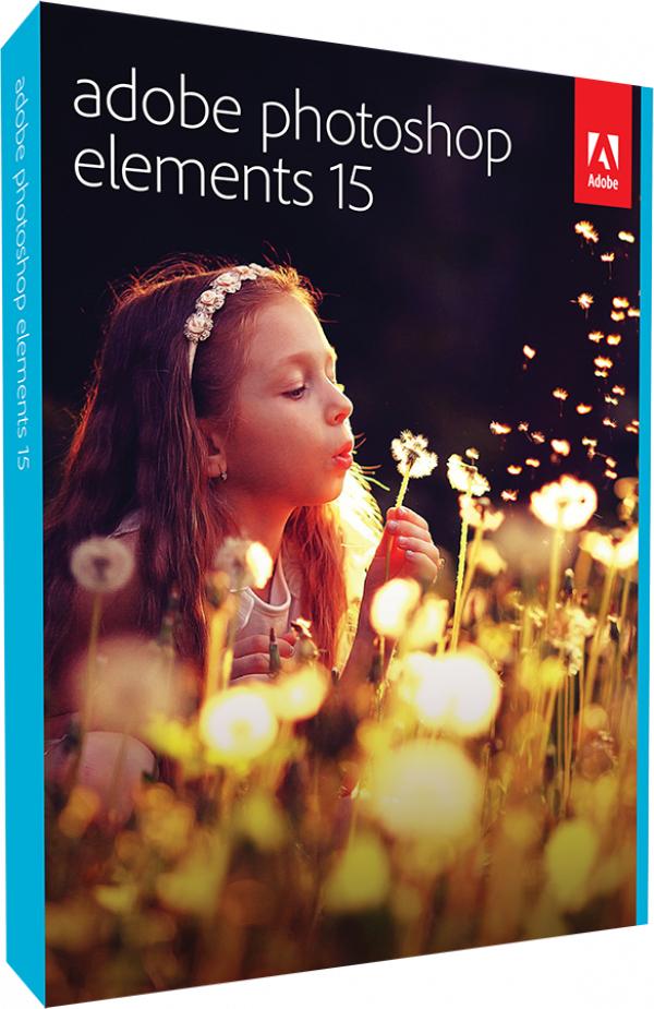 Bundle: Photoshop Elements 15 + Premiere Elements 15 + Photoshop Elements 15 Buch
