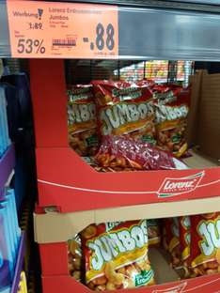 [Kaufland] Lorenz Erdnusslocken Jumbo im 225g Beutel für 0,88€