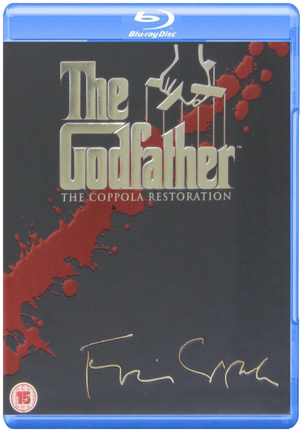 """The Godfather Trilogie"" (4 Blurays inkl. Bonus-Disc) (dt. Tonspur) für 11,57€ [Amazon.co.uk]"