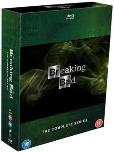 Breaking Bad - Komplettbox (Bluray) (dt. Tonspur 1-5.1) für 36,05€ [Amazon.co.uk]