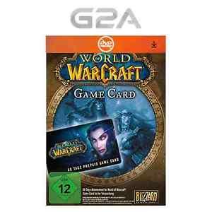WoW Gamecard 60 Tage Spielzeit per Sofortversand @ebay mit Möglichkeit zum Preisvorschlag