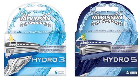 [DM offline] Wilkinson Hydro 3 7,44€ oder Hydro 5 10,39€ je 8er Pack Klingen mit Payback 30-fach/11-fach Kombi