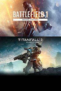 [Xbox one]Battlefield 1 & Titanfall 2 Deluxe Bundle [RU]