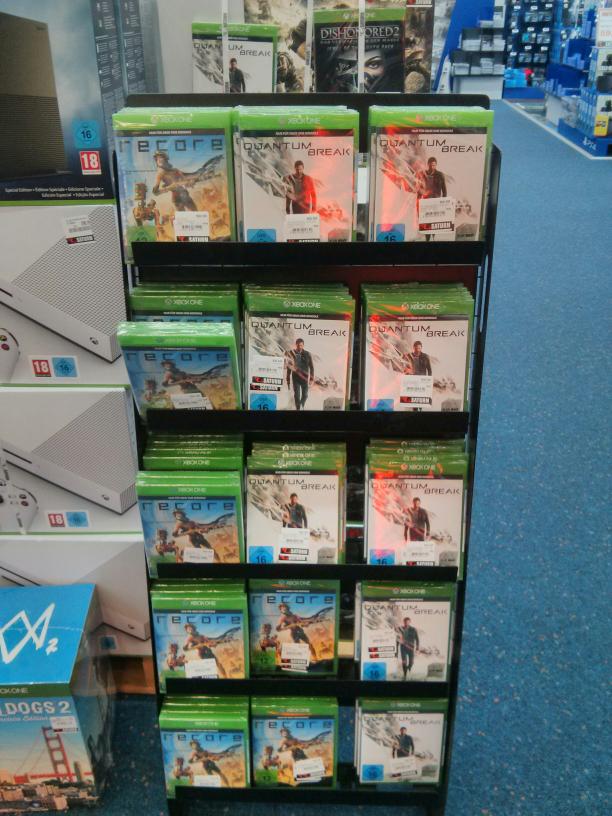[Lokal Saturn Wuppertal] Quantum Break & Recore für die Xbox One jeweils 19€