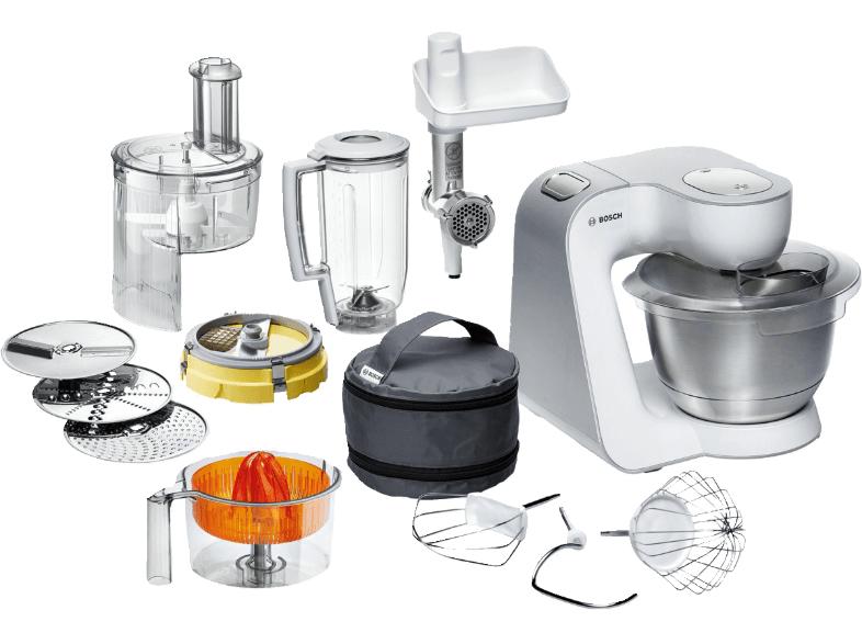 [Saturn.at] Küchenmaschine BOSCH MUM 54251 Styline Weiss/Silber für 193€