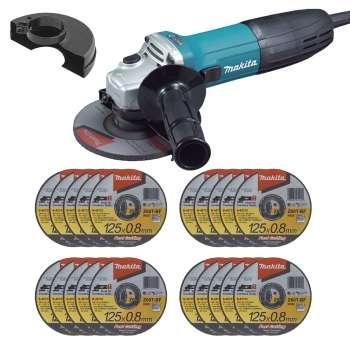 Makita Winkelschleifer GA5030 125 mm 720W inkl. 20 Trennscheiben 0,8mm (werkzeugstore24) - wieder da, noch günstiger