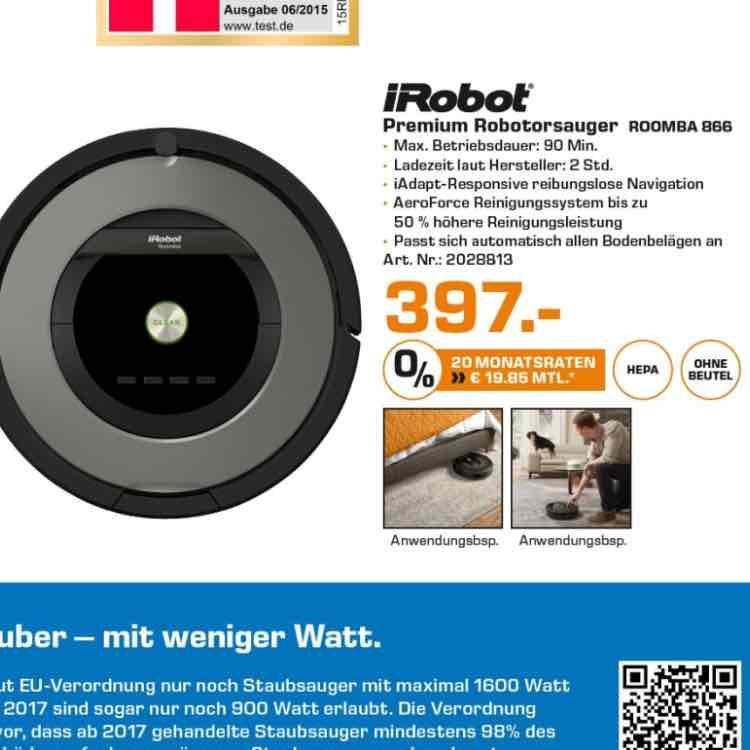 [Saturn Isernhagen] irobot Roomba 866