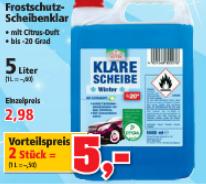 Frostschutz 10L für 5€ (Thomas Philipps 25.11.-26.11.)