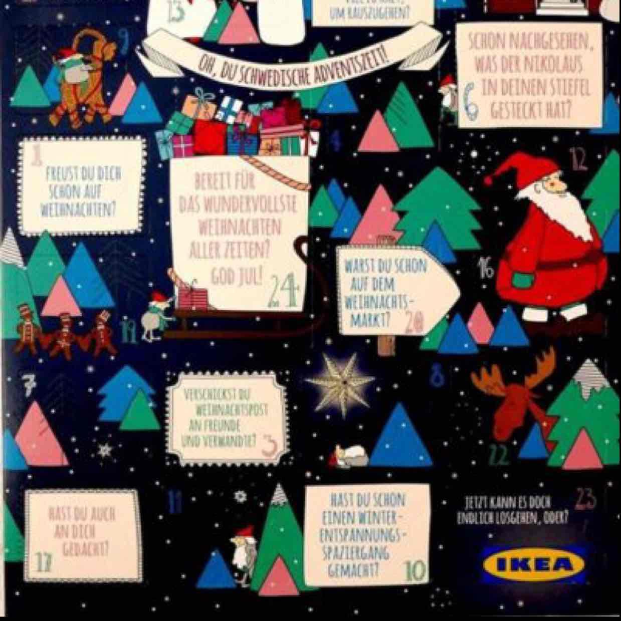 Ikea München Brunnthal Adventskalender 2 für 1